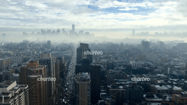 View of Manhattan skyline, New York and New Jersey