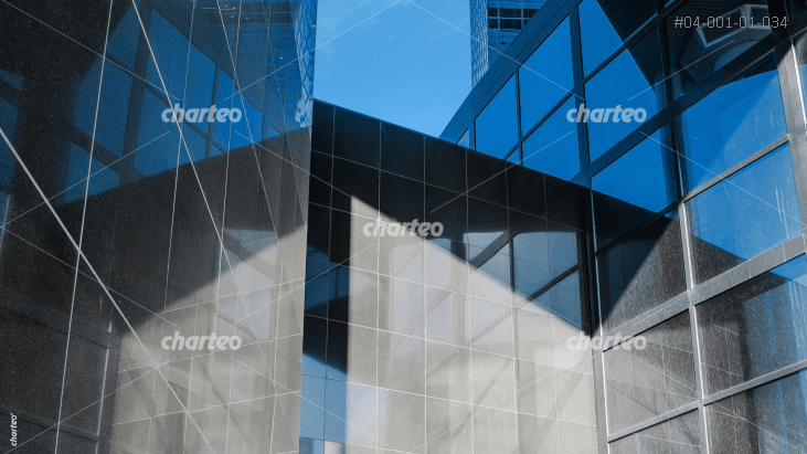 Modern office building with glass facade