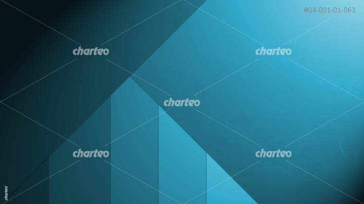 Blue material design background with angular shapes - triangle