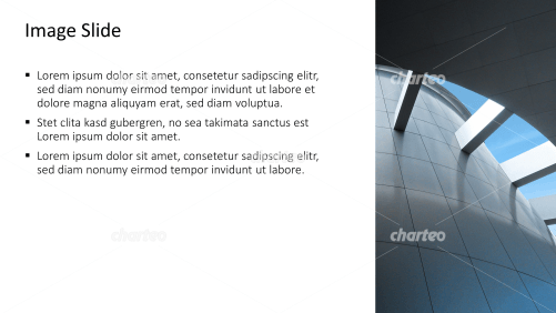 Placeholder text with image of roofing at office building