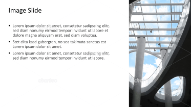Placeholder text with image of a roof construction