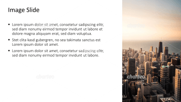 Placeholder text with image of skyline at a coast