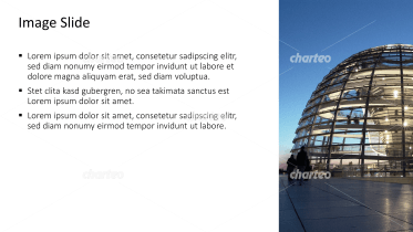 Placeholder text with image of glass dome in Berlin