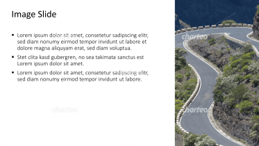 Placeholder text with image of serpentine mountain road