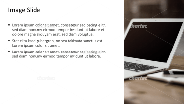 Placeholder text with image of a laptop screen