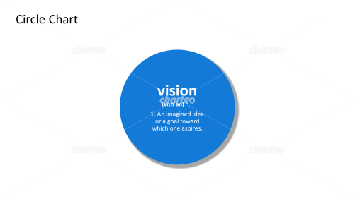Vision - definition and phonetic spelling in filled circle