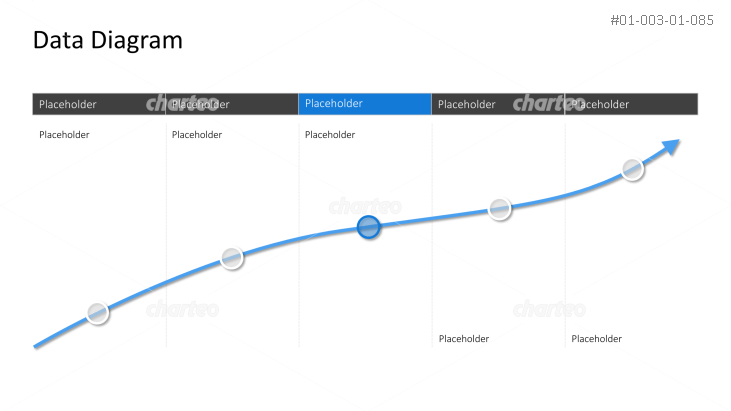 Line graph overlaying a table with columns