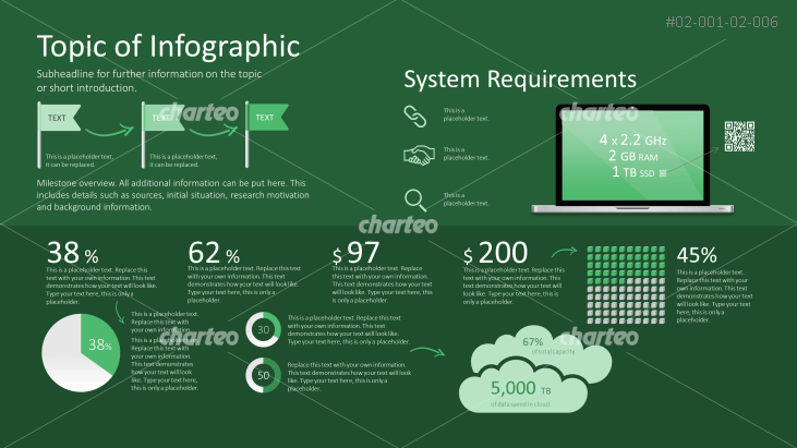 Infographic about computer system requirements