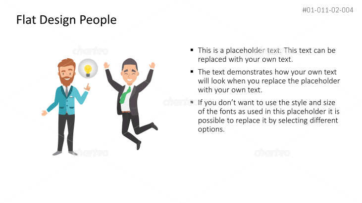 Business Person - Great Idea with cheering