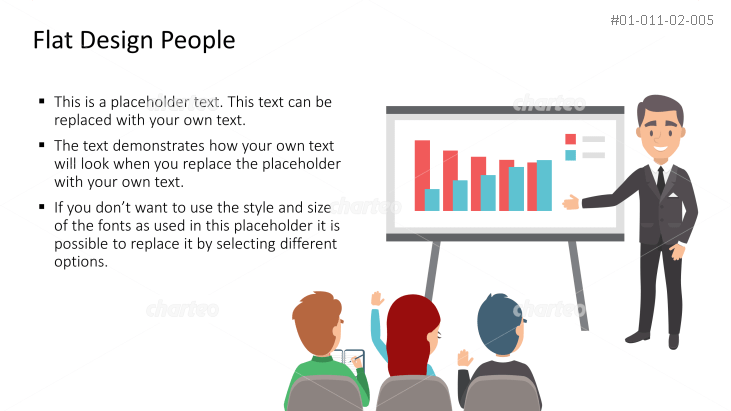 Business Person - Presenting the Facts
