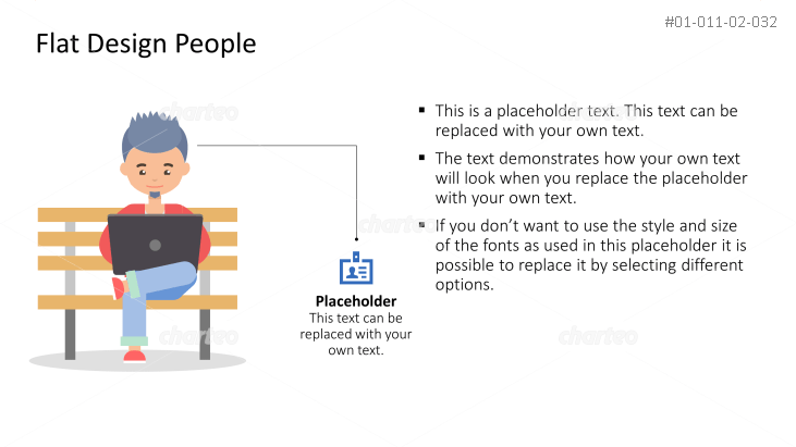 Business Person - Designer working on Bench