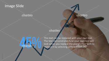 Business Person - Hand zeichned Graph