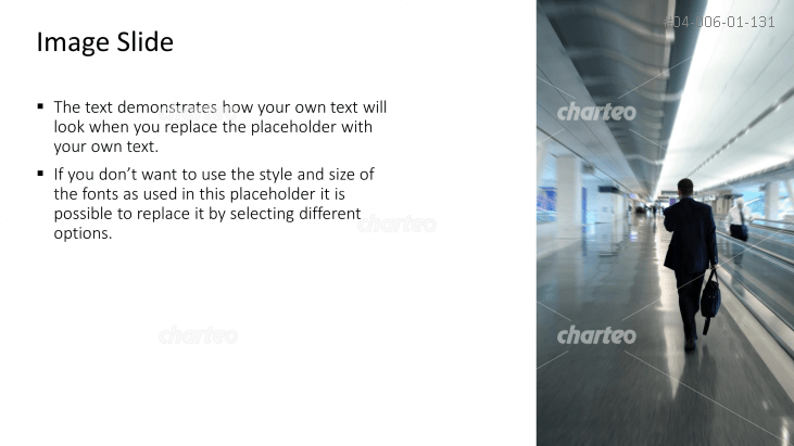 Textbox with image of person in air terminal