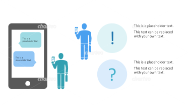 Pictograms - Smartphone chat