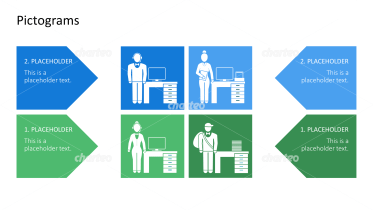 Pictograms - Communication at the office