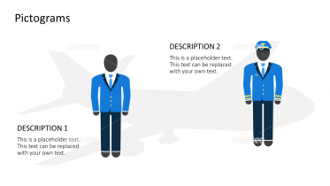 Pictograms - Airplane outfits male
