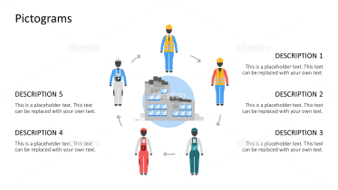 Pictograms - Outfits circulation construction site female