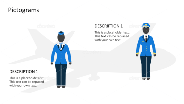 Pictograms - Airplane outfits female