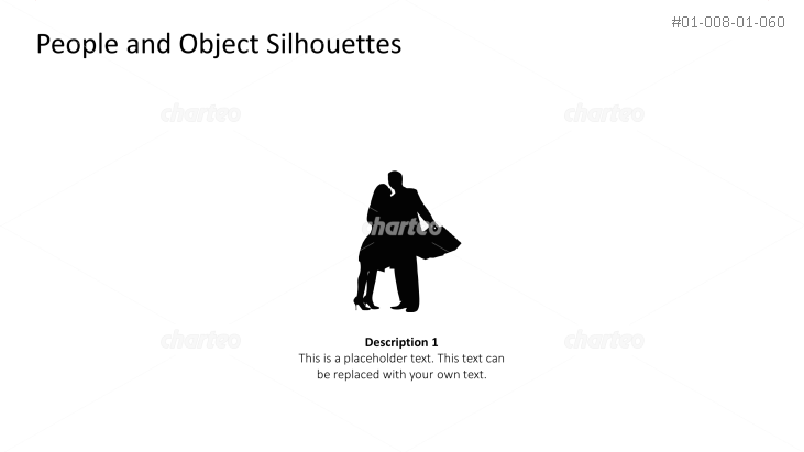Silhouette of woman hugging man with a bag