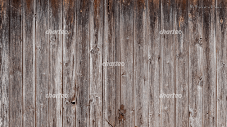 Wooden wall made of vertical planks