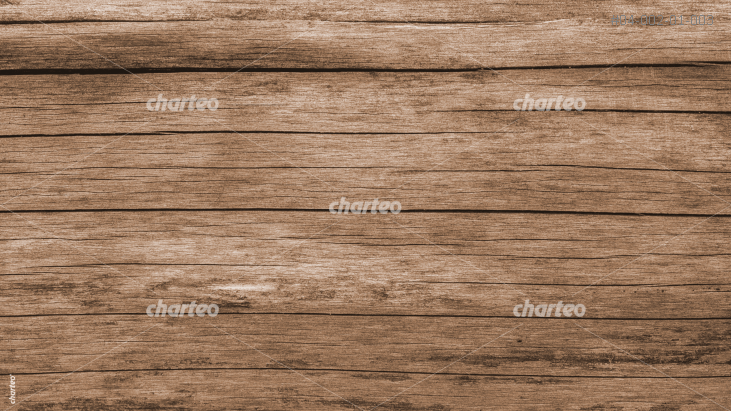 Plank flooring made of horizontal brown wooden planks