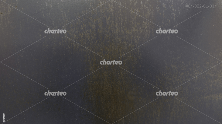 Stained dark metal surface in grunge look